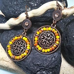 🐞2/$20 Sun Goddess Earrings Boho Style